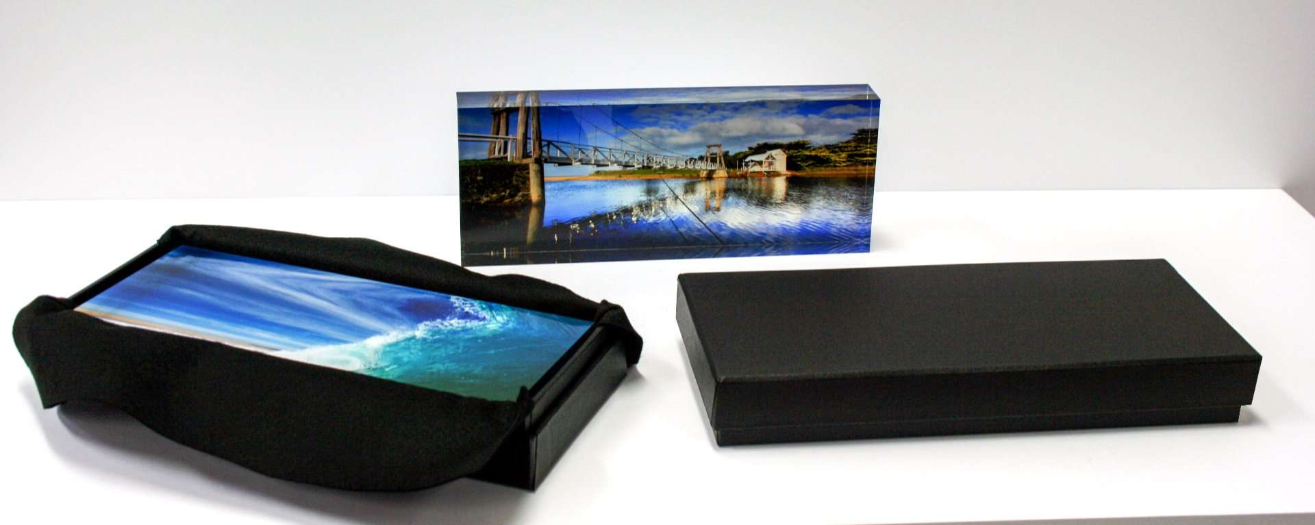 Acrylic Block with Presentation Boxes