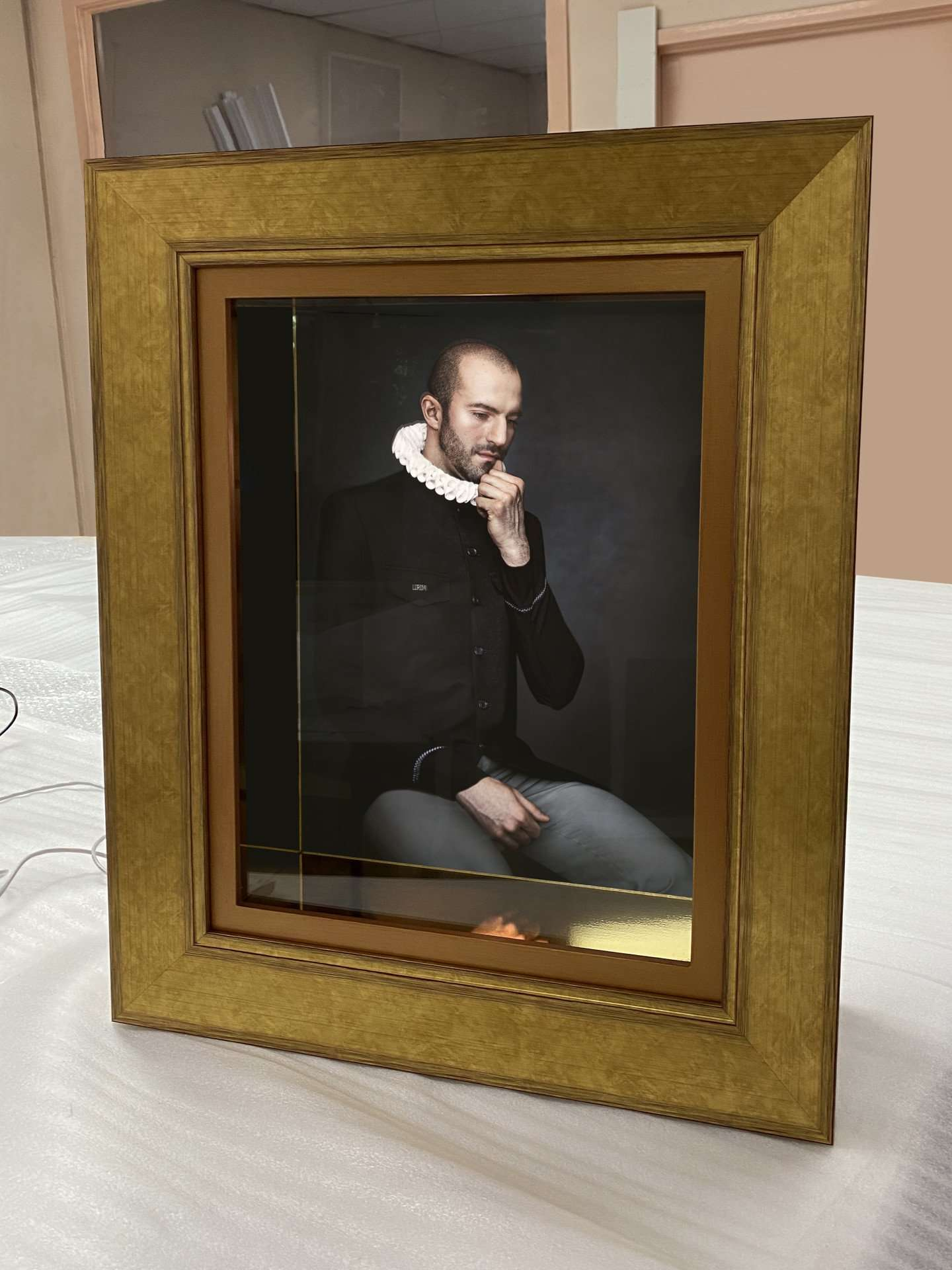 Bronze Stained Frame By Alina Gozin
