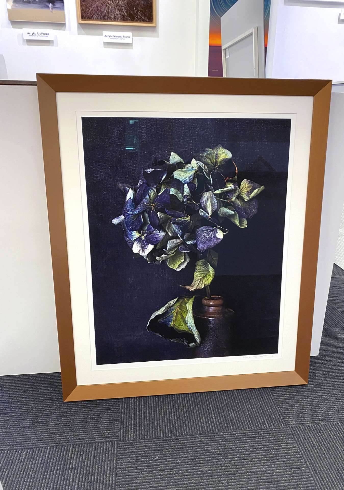 Hand Painted Bronze Frame Photography by Hugh Stewart