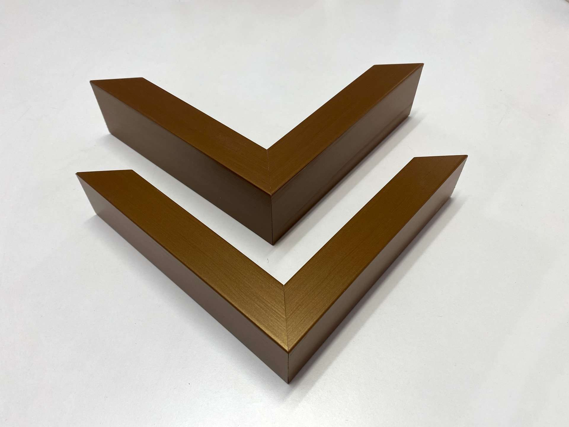 Hand Painted Bronze Frames