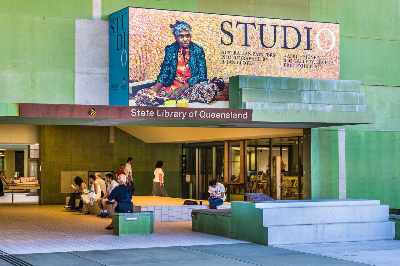 The STUDIO exhibition at the State Library of Queensland