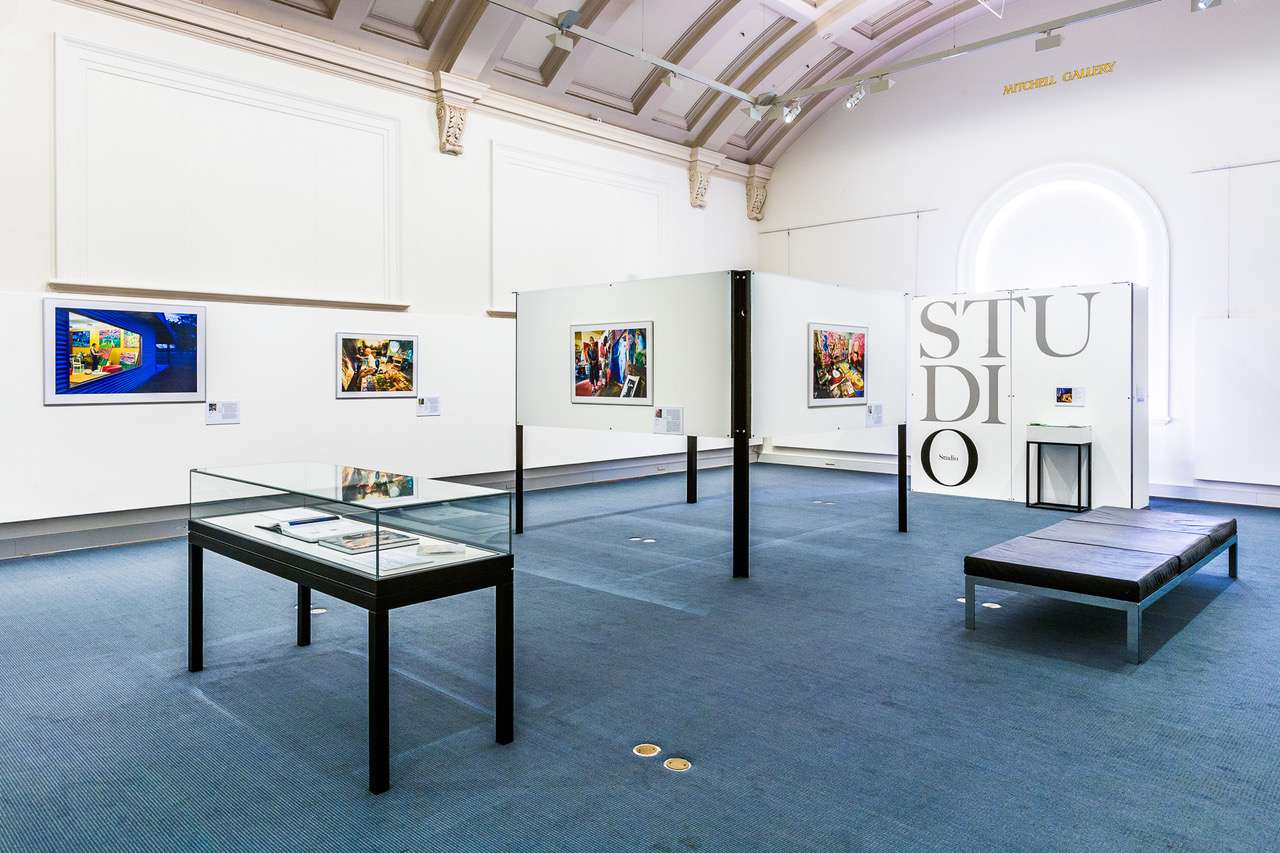 The STUDIO exhibition at the Mitchell Wing of the State Library of NSW