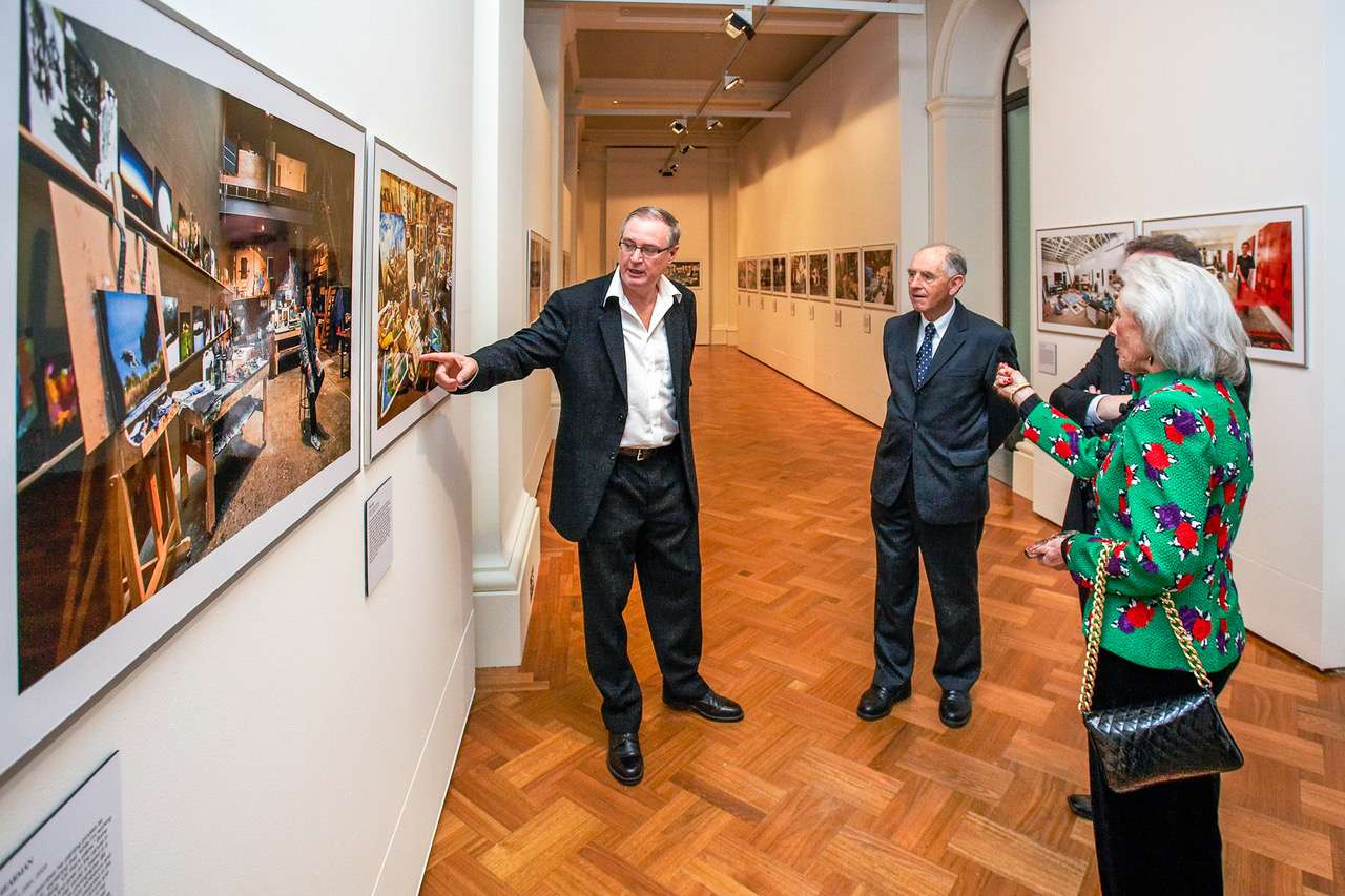 Launch of the STUDIO exhibition at the State Library of Victoria
