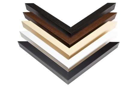 Simple Wood Frame Colours