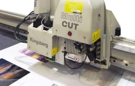 Computerised cutter with photo registration